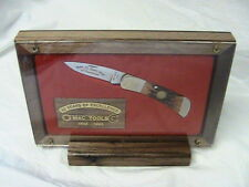 1 NEW MAC TOOLS KNIFE 55 YEARS OF EXCELLENCE IN SEALED DISPLAY CASE