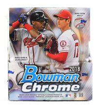 2018 Bowman Chrome Baseball Hobby Box FACTORY SEALED