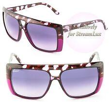 GUCCI Fashion Square Lilac Havana Purple Sunglasses GG 3532S 3AUTB