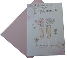 450	Single Engagement card - Special Wishes on your Engagement (Size G)