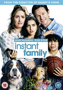 Instant Family (DVD) (2019) Mark Wahlberg - Free postage