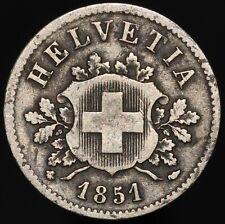 More details for 1851 | switzerland 10 rappen | billon | coins | km coins