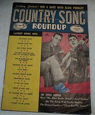 Country Song Roundup - August 1956 - Carl Perkins - Elvis Presley - Ferlin Husky