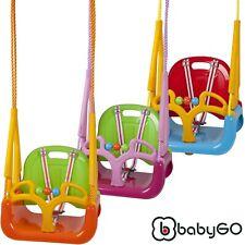 Kinderschaukel Babyschaukel Gartenschaukel 3 in 1 Baby Kinder BabyGo Doremi