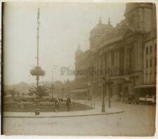 Bruxelles Belgique Photo D3 Plaque de verre Stereo Vintage ca 1925