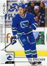 17/18 O-PEE-CHEE OPC BASE #252 TROY STECHER CANUCKS *41060