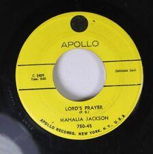 Christmas Gospel 45 Mahalia Jackson - Lord'S Prayer / Silent Night, Holy Night O