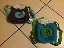WEBKINZ BACKPACK LOT of 2 Collectible Toys CARRIER FOR PLUSH TOYS Back Pack BAG