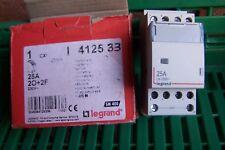 Contacteur de puissance 412533 Legrand  bobine 230 v~ 2p 400 v 25A