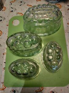 Vintage Jelly Moulds X 4