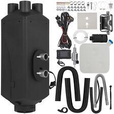 Chauffage Diesel Air Heater 8KW 12V avec Silencieux Commutateur LCD Kit Comple