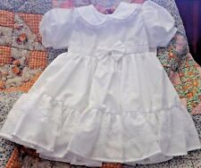 NWT Girl 18 Mo Old Dress And Diaper Cover Cotton Christening BELOW WHOLESALE