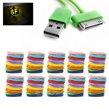 80X 6FT USB SYNC DATA POWER CHARGER CABLE IPHONE 4S IPOD TOUCH CLASSIC NANO IPAD