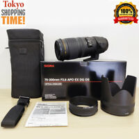 Sigma Apo 70-200mm F/2.8 EX DG OS HSM for Sigma Mount Near Mint from Japan