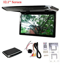 12.1inch Overhead Roof Monitor Car Vehicle Video DVD Player with Remote Control
