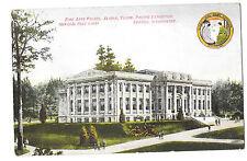 Alaska Yukon Pacific Exposition 1909 Seattle WA Fine Arts Palace PPC Unposted