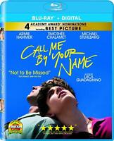 Call Me By Your Name (Blu-ray) NEW Factory Sealed, Free Shipping