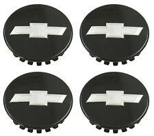 set 4 Camaro Colorado Traverse Black center cap Factory OEM wheel caps 23115617