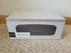 Bose Soundlink Mini II Special Edition - Black New in Packaging