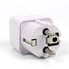 Hot Travel US USA To UK EU Euro Europe Plug Charger AC Power Converter Adapter