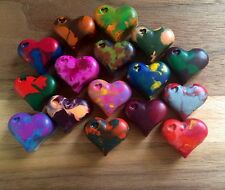 Heart Crayons Homemade Multicolor Party Favors 16 Pieces
