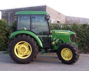 Kabine für John Deere 5E 5055E mit Frontlader Traktorkabine Verdeck  Schlepper