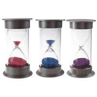Sablier de cristal en plastique Horloge de sable de 30 minutes Sablier de decora