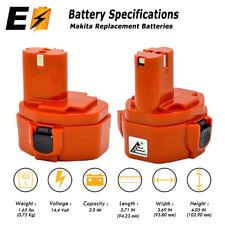 2 x14.4V Ni-Cd 2.0AH 2000mAh Battery For MAKITA 1420 1422 192600-1 193985-8 PA14