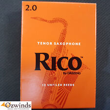 Rico Tenor Saxophone Reeds Strength 2.0 (Box of 10) by D'Addario