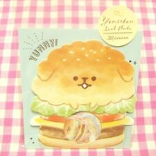 KAMIO JAPAN / Yeastken Dog Burger Bakery Flake Sticker / Japanese 30 pieces