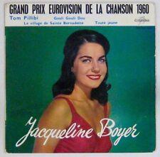 Jacqeline Boyer 45 Tours Eurovision 1960