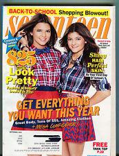 Seventeen Magazine September 2012 Kendall & Kylie EX 070616jhe