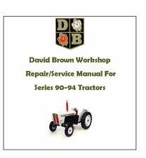 David Brown Tractor Manuals & Publications