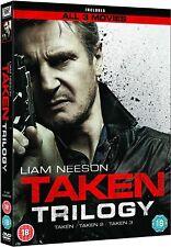 TAKEN TRILOGY 1, 2, 3 (DVD) Brand New Sealed