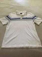 Vurt Men's Striped Short Sleeve Polo Size M