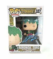 Christopher Sabat Autograph Funko POP ONE PIECE ZORO Signed JSA COA 327 CS5