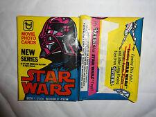 1977 Topps STAR WARS Series 2 Wax Pack Fresh From Box Pink Helmet!