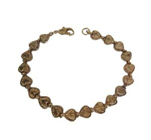 Gold Heart Bracelet - Women's 14 K Gold Filled Bracelet - Gold Filled Jewelry