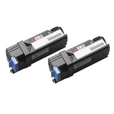 2 Magenta Toner Cartridge For Dell Printer 1320 1320C 1320CN
