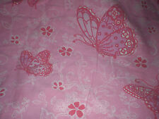 Gorgeous PINK BUTTERFLY Fabric (72cm x 50cm)