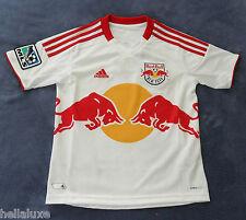 new~Adidas NEW YORK RED BULL Soccer football NY shirt Jersey USA Top~YOUTH sz XL