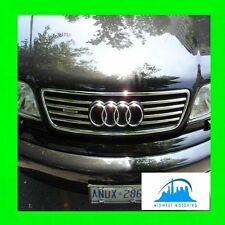 1995-2001 AUDI A6 CHROME TRIM FOR UPPER/LOWER GRILLE C4 C5 95 96 97 98 99 00 01