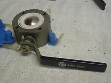 TBV 1495-3 VALVE 2 INCH STAINESS BALL AND STEM TITANIUM BODY? NEW