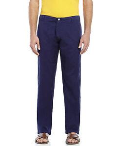 Vilebrequin Men's Blue Navy Paige Marine Casual Dress Pants