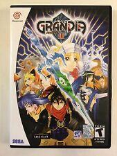 Grandia II - Sega Dreamcast - Replacement Case - No Game