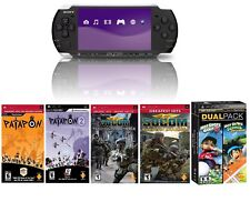 Sony PSP 3000 Handheld System with 6 NEW Games & Charger - FREE SHIPPING ™