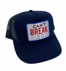 NEW G Fore Can't Break 80 Golf Snapback Mesh Mens Cap Hat Twilight Blue White