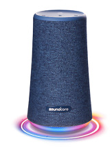 Anker Soundcore Flare+ Portable Bluetooth 360 Speaker All-Round Sound Blue