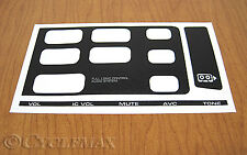 GOLDWING GL1500 RADIO DECAL (09152)