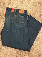 NWT Mens Levis 514 Regular Fit Stretch K-Town Jeans  Big Tall 46X32 MSRP $69.5